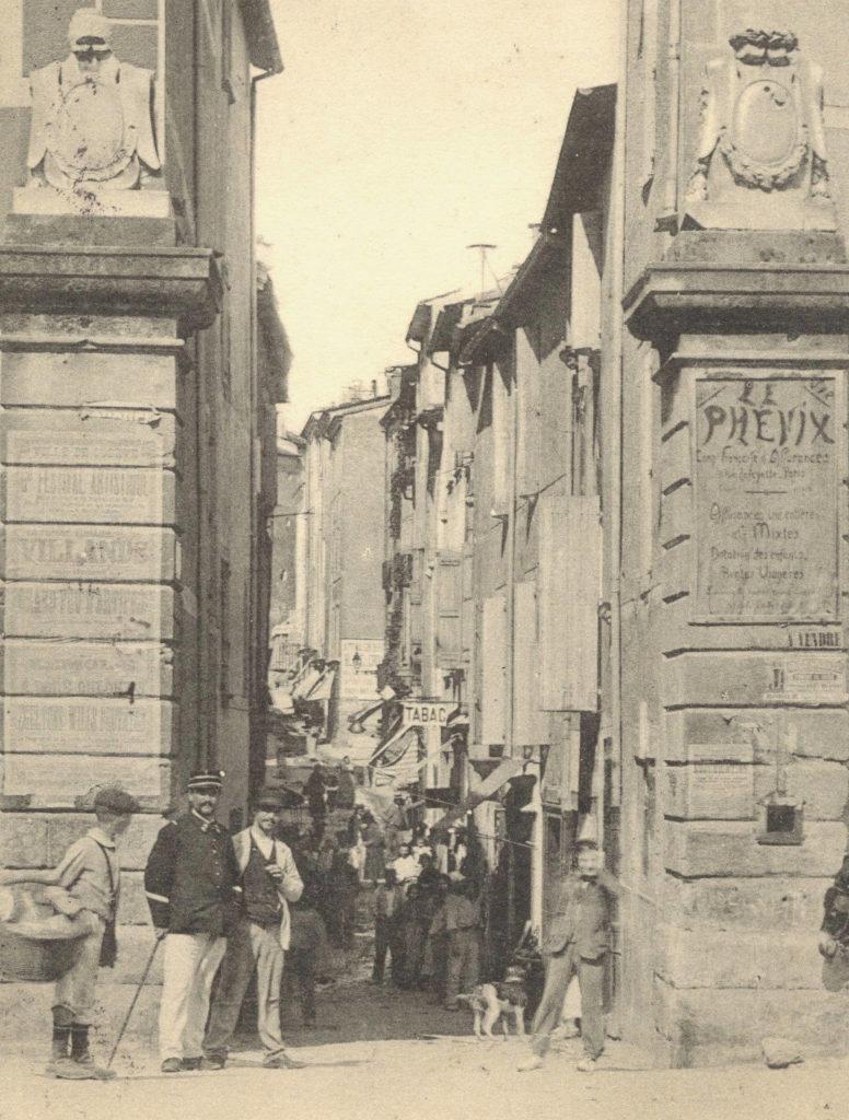 Carte postale entrée Lodève