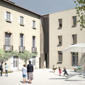 photo musée lodève - entrée
